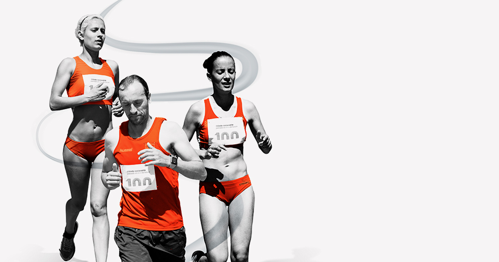 Mini e meia maratona